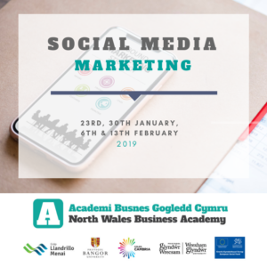 Social Media Marketing | NWBA Phase 2 Short HE Course @ Bangor University